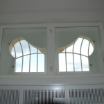 rama okna krosnowego - widok od wewnątrz