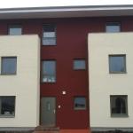 okna zespolone w jednym z budynków w Stralsundzie