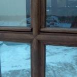 zdobienie ślemienia i słupka okna do budynku zabytkowego