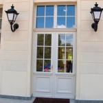 tylne drzwi zewnętrzne w Przelewicach