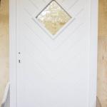 drzwi drewniane meranti białe